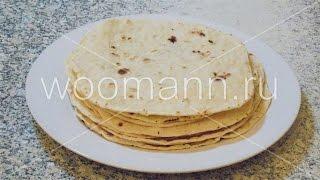 Рецепт лепешек чапати лепешки на сковороде состав мука ,вода ,соль.chapati roty phulka indian bread