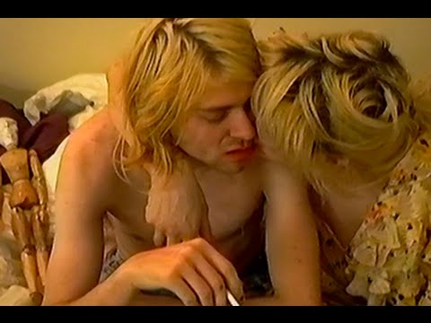 Kurt Cobain and Courtney Love Rare Footage