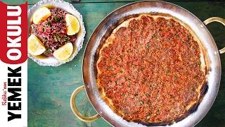 Evde Hızlı Lahmacun Tarifi | Dışarıdan Söylediğimiz Yemekler