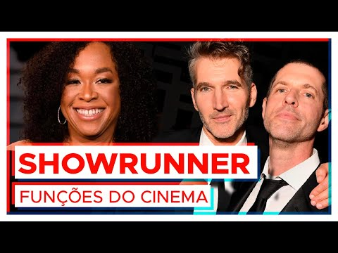 O que faz um SHOWRUNNER nas séries de Tv?