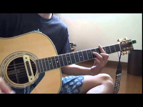 【秦基博/言ノ葉】ギター弾き語り カバー - YouTube