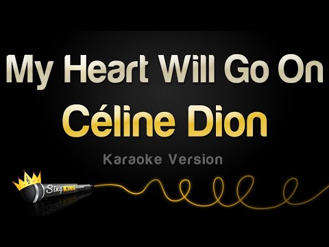 Celine Dion  My Heart Will Go On Karaoke Version
