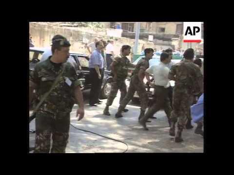 Lebanon - Geagea Gets Life