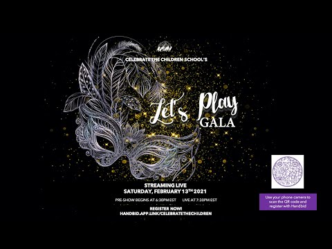 Celebrate the Children's 2021 Virtual Let's Play Gala