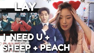 LAY 레이 'I NEED U' + 'SHEEP' MV + 'PEACH' LIVE Lay Yixing Showcase | ARE YOU MY EXO-LMATE? (Day 11)