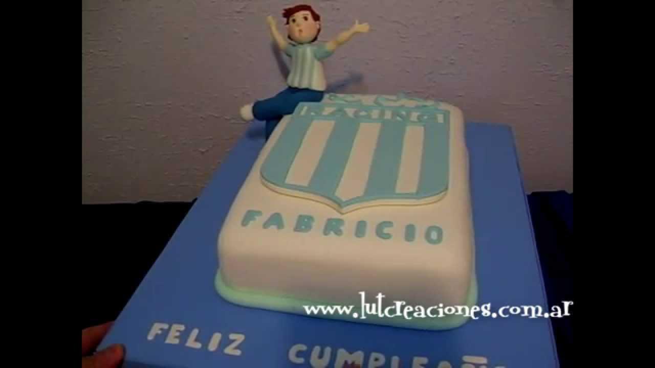 Torta Decorada Racing Club Lut Creaciones Tortas Decoradas
