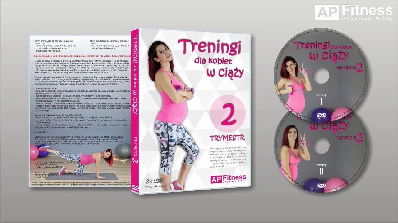 ec77810efa 2 TRYMESTR CIĄŻY - Program treningowy dla kobiet w ciąży - Zwiastun ...