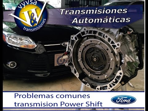 Transmision Ford Power Shift problemas