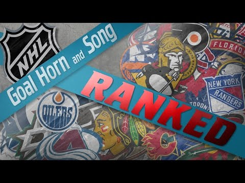 NHL Goal Horn and Song Fan Rankings! (2016-17)