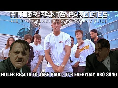 Hitler reacts to Jake Paul - It's Everyday Bro (Song)