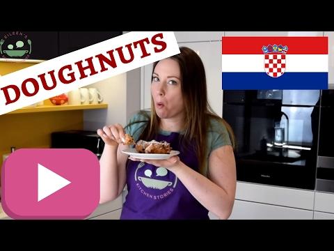 CROATIAN FRITULE   Uštipci   Mini Doughnuts