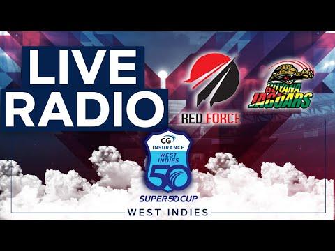 🔴LIVE RADIO FINAL   Trinidad & Tobago vs Guyana   CG Insurance Super50 Cup