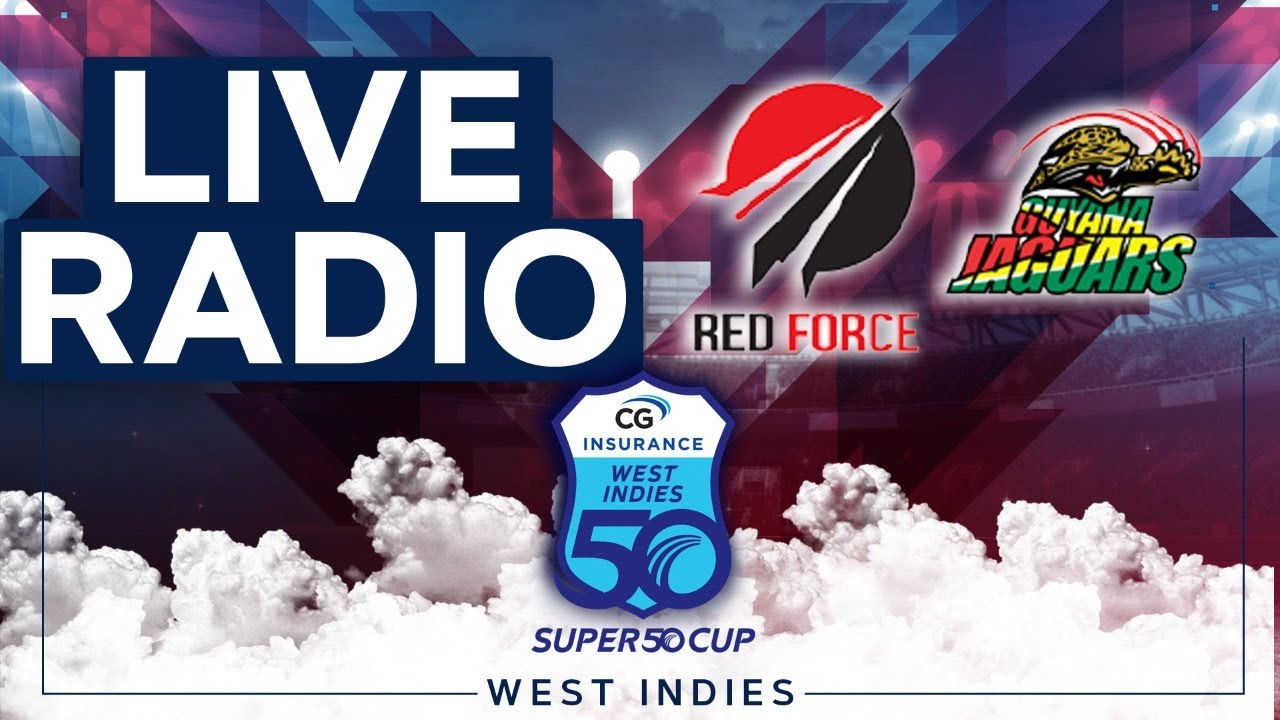 🔴LIVE RADIO FINAL | Trinidad & Tobago vs Guyana | CG Insurance Super50 Cup