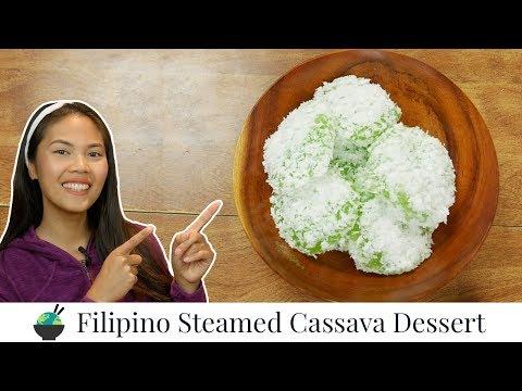 Pichi Pichi Recipe | Cassava Coconut Cakes