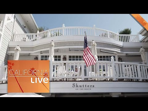 Take a Tour of an Iconic Santa Monica Hotel: Shutters on the Beach  | California Live | NBCLA