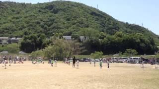 2012  岐阜市U9サッカー大会 城西×合渡後半戦