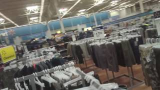 Shopping Inside Walmart - Elyria, Ohio