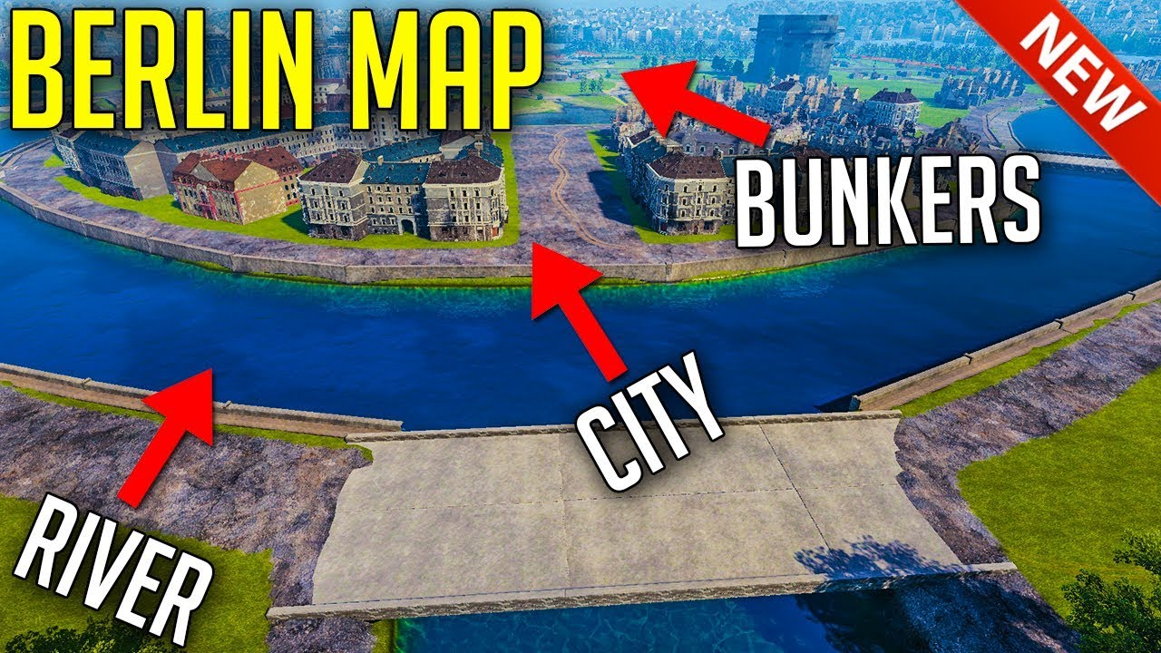 NEW Berlin Map • Minsk Rework ► World of Tanks Update 1.7+ News