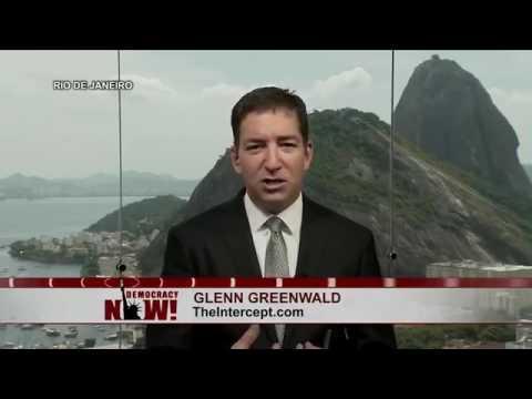 Glenn Greenwald talking about Donald Trump - Feb 2017