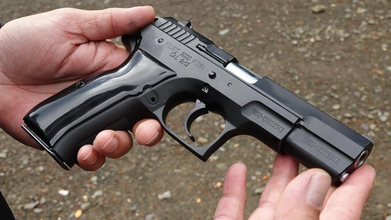 Kilinc 2000 Mega 9mm vs TriStar L120