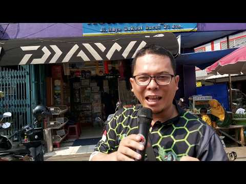 Jelajah TOKO PANCING TERLENGKAP di Jakarta