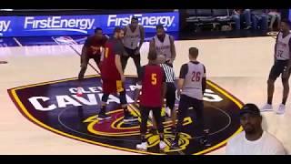 Cavaliers Full Scrimmage Highlights!! LeBron James, Dwayne Wade, Derrick Rose, Kevin Love! Reaction