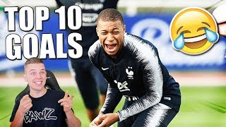 TOP 10 GRAPPIGSTE VOETBAL GOALS!!