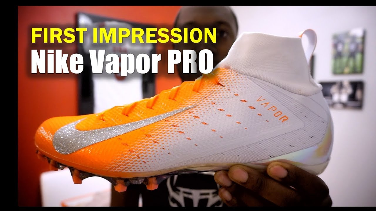 07277c721ae NIKE Vapor Untouchable 3 PRO Cleats  1st Impression - YouTube