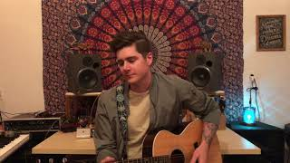 "Andy Grammer ""The Good Parts"" - Michael Pinning acoustic cover"
