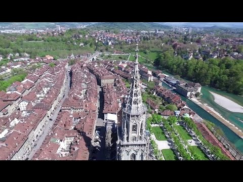 Bern from above - Drone Aerial