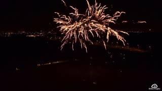 Hurlston Hall Fireworks 2016