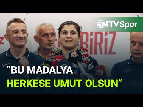 Olimpiyat şampiyonu Busenaz Sürmeneli, NTV'ye konuştu