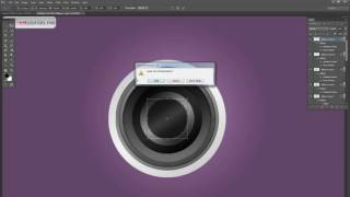 How to Create a Camera Lens icon in Photoshop
