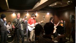 20140609 RNS Blues Session The Kawasaki 川崎師範代が若者を指導します。