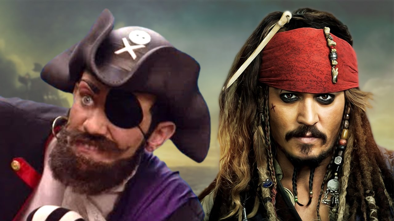 you are a pirate but also he s a pirate youtube