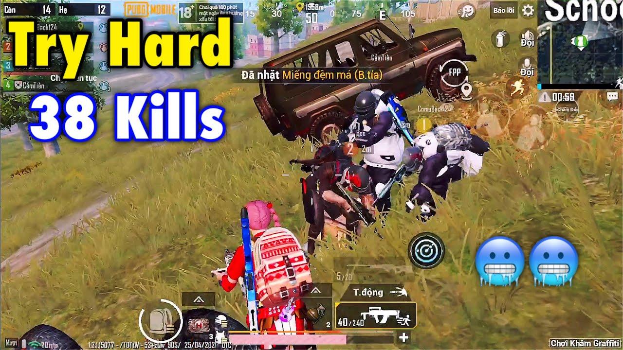 PUBG Mobile | Trà Trộn Cộng Đồng - Gặp Team Toàn Gái Nhưng Bắn Cực Hard 38 Kills 🥶