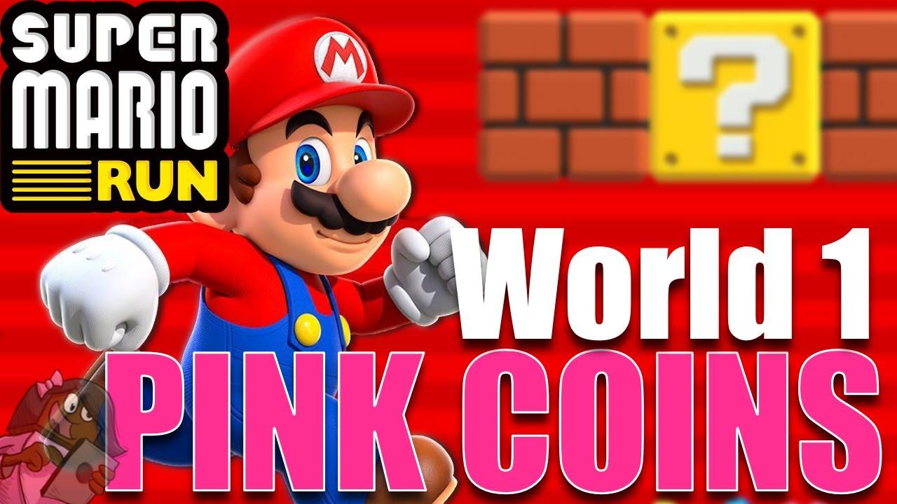 mario run 2 1 pink coins