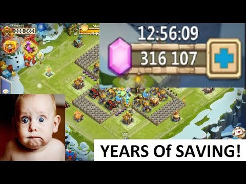 315000 FREE 2 Play GEMS Most Saved EVER INSANE Castle Clash