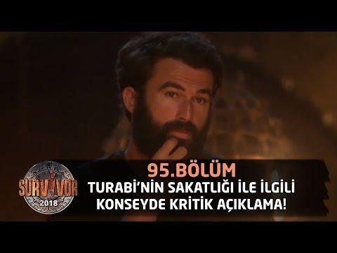 Survivor 2018 | 95.Bölüm |  Turabi'nin Sakatlığı İle İlgili Konseyde Kritik Açıklama!