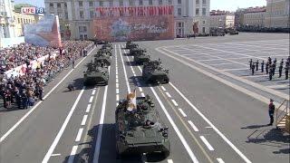 Парад Победы в Санкт-Петербурге 9 мая 2016 года  HDTVRip 720p