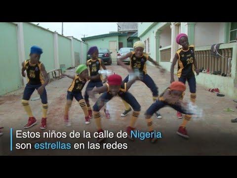 afpes: Niños de la calle de Nigeria son admirados por sus bailes