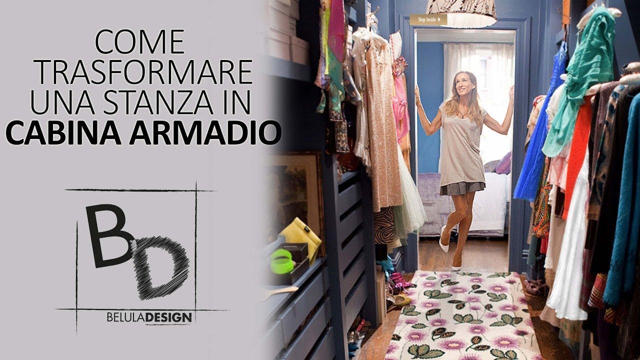 Cabina Armadio Per Hour : Come trasformare una stanza in cabina armadio belula design