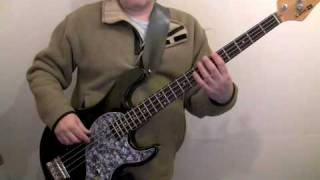 how to play bass for beginners - moondance