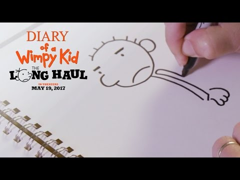 Diary of a Wimpy Kid The Long Haul | How To Draw Rodrick | 20th Century FOX
