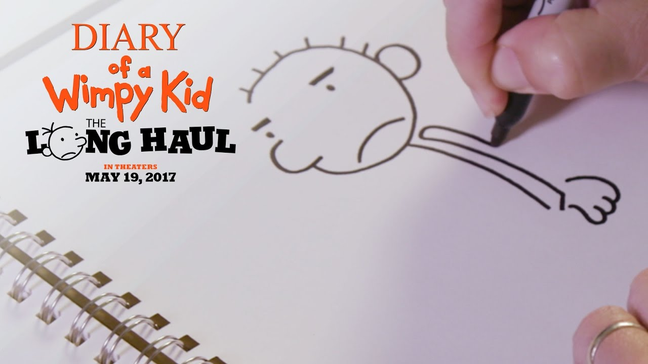 diary of a wimpy kid how to draw rodrick