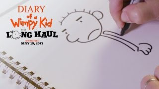 Diary of a Wimpy Kid: The Long Haul   How To Draw: Rodrick   20th Century FOX
