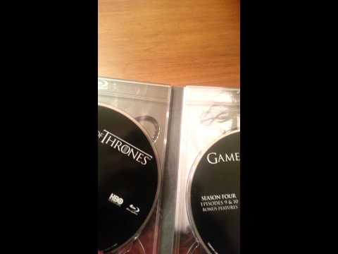 Game of Thrones season 4 unboxing!!!