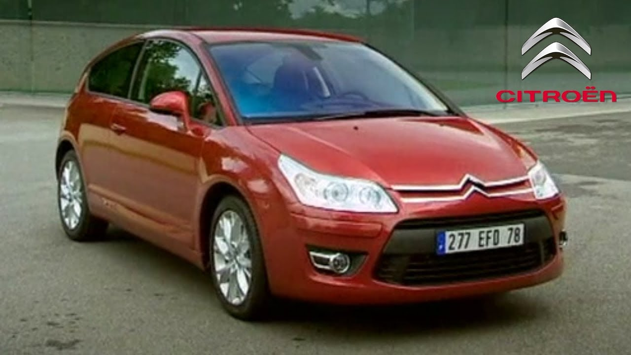 citroen c4 2005 coupe