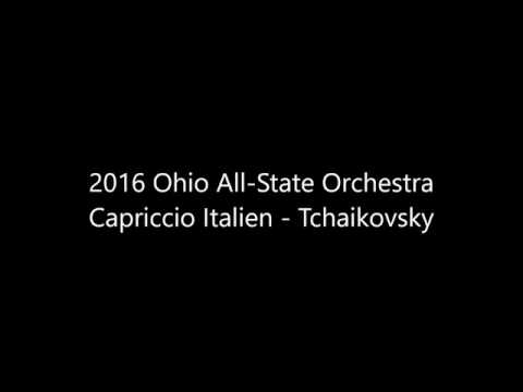 2016 Ohio All-State Orchestra - Capriccio Italien (Tchaikovsky)