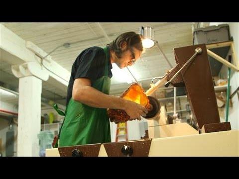 Artist Thaddeus Wolfe's Glass Techniques